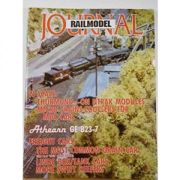 RailModel Journal 1993 July Grain car Linde box/tank cars Swift reefers
