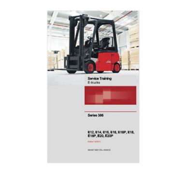 Linde 386 Series E12,E14, E16, E18, E20, E16P, E18P, E20P E-Trucks Manual (0406)