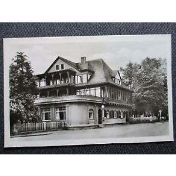 Ak Seltenheit aus 1957 ! SITZENDORF im Schwarzatal HOTEL ZUR LINDE  Sehr RAR