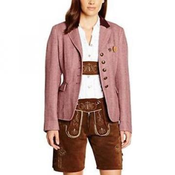 Tg 40| Schneiders Linde Garment Dyed Tracht, Giacca Trachten Donna, Rosa (Fliede