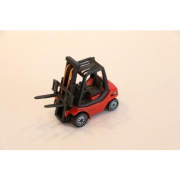 Siku Set 1625 Pritschenwagen MAN VW mit Gabelstapler Linde H30 und 2 Paletten