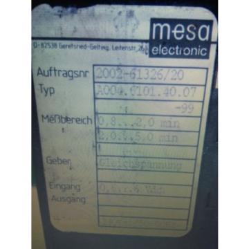 linde Mesa A004.6101.40.07 temperaturregler