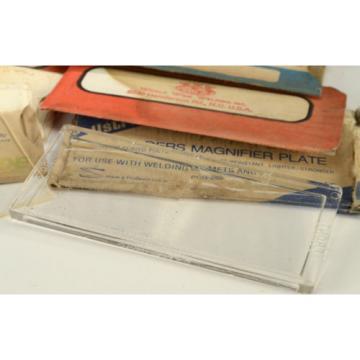 MORSAFE MOR SAFE - LINDE - WORLD WIDE WELDING - CLEAR PLASTIC COVER PLATES