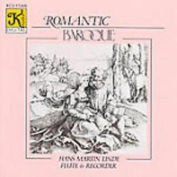 Romantic Baroque: Hans-Martin Linde: Flute & Recorder w/ Artwork MUSIC AUDIO CD