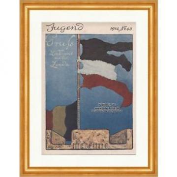 Titelseite der Nummer 46 von 1914 Fritz Erler Linde Fahne Malonne Jugend 1339
