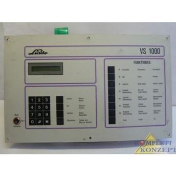 Linde VS1000 Kühlaggregat Steuergerät Steuerung Regler