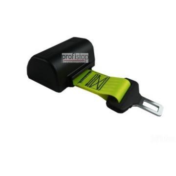 Beckengurt Automatik leuchtend GELB Sicherheitsgurt 2 Punkt Linde Gabelstapler