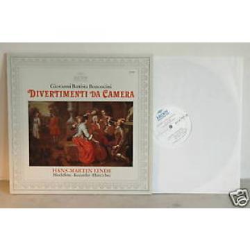 BONONCINI Divertimenti Da Camera LINDE Archiv 2533 167 LP
