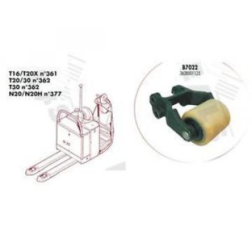 CHAPE COMPLETTE GALET SIMPLE B7022 TRANSPALETTE FENWICK LINDE T20 T30 N°362