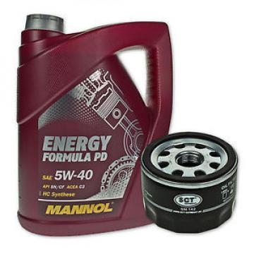 5 Liter MANNOL SAE 5W-40 Formula PD Öl + Ölfilter SM 142 von SCT Germany