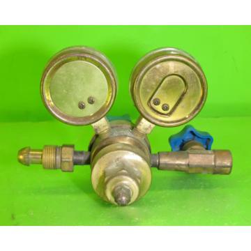 US Gauge BU-2581-AQ Gauge Set with Linde Regulator #10