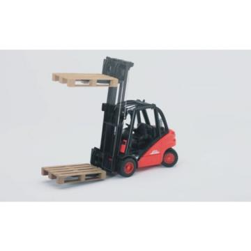 Bruder 02511 Linde fork lift H30D with pallets Scale 1:16 German Tough Realistic