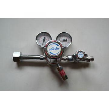 Linde Tipo: R200/1-14B Regulador de presión + V200/CNB + 2 Wika Manómetro Como
