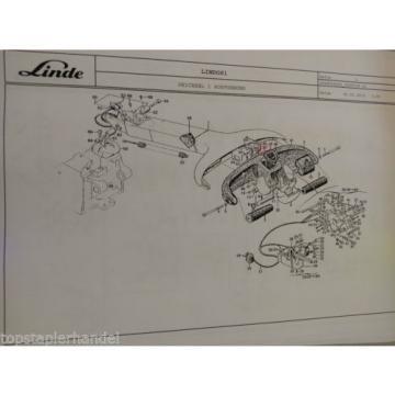 Casing Linde no. 003975170 Type T, L, N BR141,360,361,362, 364,367,372,375 etc