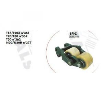 CHAPE COMPLETTE DOUBLE GALET B7023 TRANSPALETTE FENWICK LINDE T16 T20X N°361
