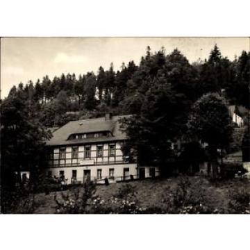 Ak Pobershau Marienberg im Erzgebirge, Blick auf Gasthaus zur Linde - 1551593