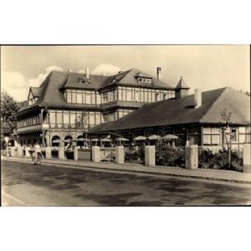 Ak Sitzendorf an der Schwarza in Thüringen, HO Hotel zur Linde - 1544742