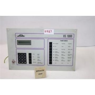 Linde vs1000 unidad de refrigeración Comando Control regulador vs 1000