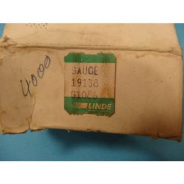 Linde Wika Pressure Gauge 4000 PSI 19138