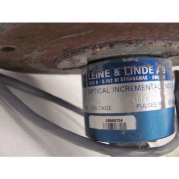 USED LEINE & LINDE AB 5810 ENCODER 1024PPR PULSES/RV