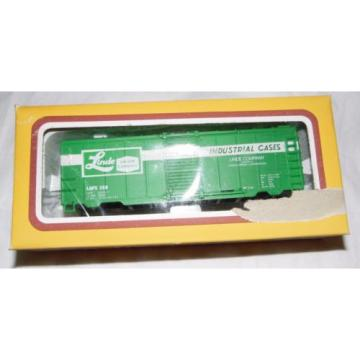 Vintage Life Like Train Set Linde Union Cabbide Indust Freight Car In Package