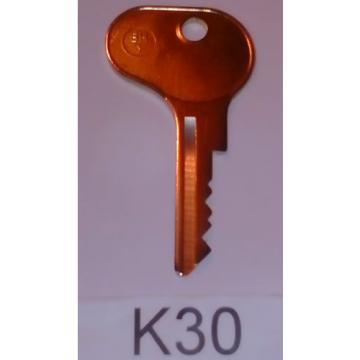 E30 FORKLIFT KEY CUT TO CODE FOR BOSCH, STILL, YALE, LINDE JUNGHEINRICH ETC NEW.