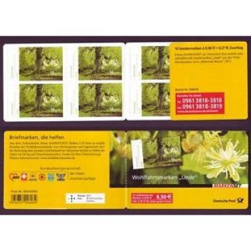 Bund Markenheftchen 93 Blühende Bäume Linde 2013 postfrisch