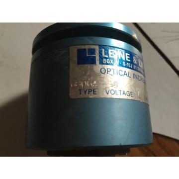 USED LEINE & LINDE 6806A OPTICAL INCREMENTAL ROTARY ENCODER, 2500 PULSES ,BOXYC