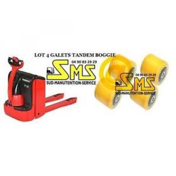LOT 4 GALET 0039933603 85 80 85 12 mm TRANSPALETTE LINDE T16 T18 T20 >N°360R