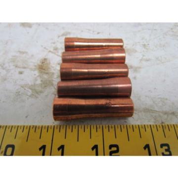 Profax PX 19N47 3/32 Copper Contact tip Sub-Arc SAW Linde L-TEC Qty 5