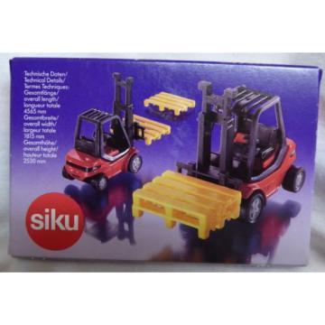 Siku Super Serie No 1717 Linde-Gabelstapler 1:55 Fork Lift Truck