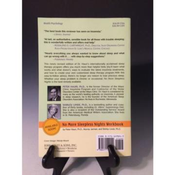 No More Sleepless Nights by Shirley Linde and Peter Hauri (1996, Paperback, Revi