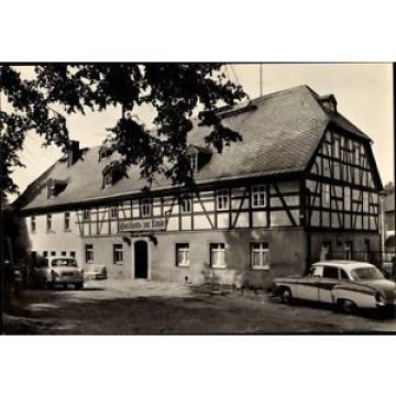 Ak Großolbersdorf im Erzgebirgskreis, Gasthaus zur Linde - 1530478