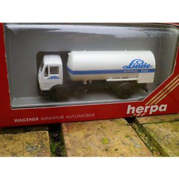 HERPA HO 1:87 ref 806050 MERCEDES camion citerne TANKER Linde état neuf en boite