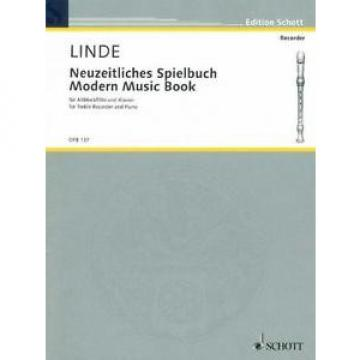 Linde: Modern Music Book for Treble Recorder and Piano OFB137