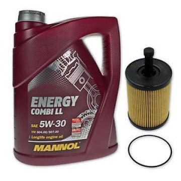 5 Liter MANNOL SAE 5W-30 Energy Combi LL Öl + Ölfilter SH 4771P von SCT Germany