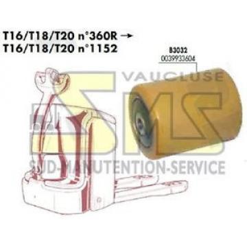 GALET 85 105 110 12 mm FENWICK LINDE T16 T18 T20 N°1152 0039933604 TRANSPALETTE