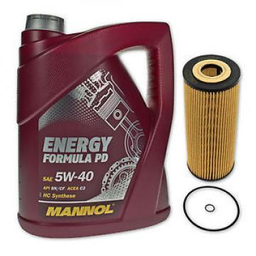 5 Liter MANNOL SAE 5W-40 Formula PD Öl + Ölfilter SH 420P von SCT Germany