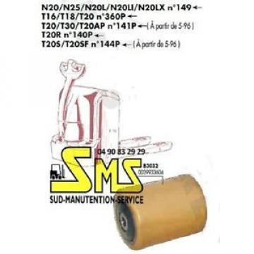 GALET 85 105 110 12 mm FENWICK LINDE T20R <N°140P 0039933604 TRANSPALETTE