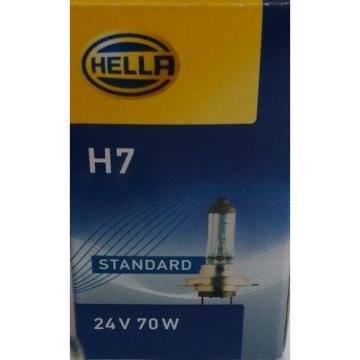 H7 24V 70W  Hella 8GH007157-241 10 Stück Glühlampe LKW Glühlampen Lampe