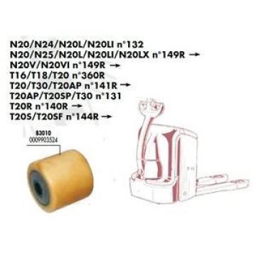 GALET BOGGIE 85 80 85 20 mm TRANSPALETTE FENWICK LINDE T20S T20SF > N°144R