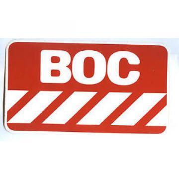 Aufkleber BOC British Oxygen Company Linde
