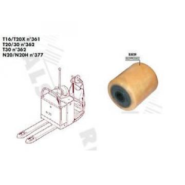 GALET SIMPLE 85 95 100 20 mm TRANSPALETTE FENWICK LINDE T16 T20X N°361 PIECES