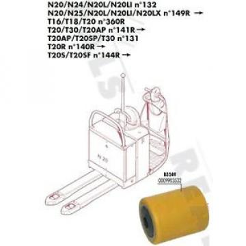 GALET 85 105 110 20 mm TRANSPALETTE FENWICK LINDE N20 N25 N20L >N°149R PIECES