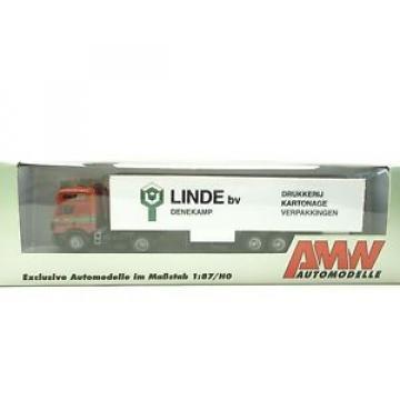 1:87...AMW/AWM--LKW Sattelzug Mercedes-Benz Linde BV Denekamp in OVP// 42 618