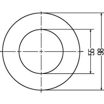 Hella Positionsleuchte Markierungsleuchte Tagfahrlicht 12 LED 24V 2PF008405-051