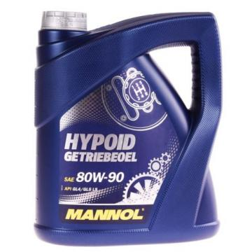 4 (1x4) Liter MANNOL SAE 80W-90 Hypoid Getriebeöl Schaltgetriebe Achsen Öl GL5
