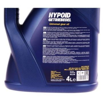 4 Liter 80W-90 Mannol Hypoid Getriebeöl Schaltgetriebe Öl Achsöl API GL4 GL5 LS