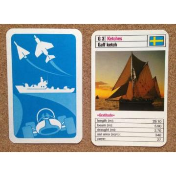 TOP TRUMPS Single Card SAILING SHIPS - Various