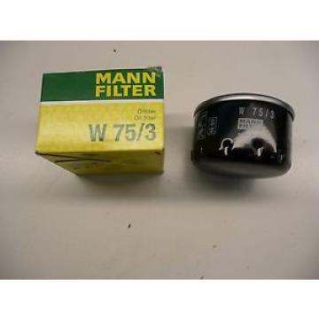 Renault Megane Ölfilter Öl Filter Original Mann Filter W75/3 Neu